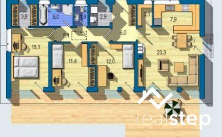 Výborne riešený 4izb bungalov v Malom raji pri Bratislave