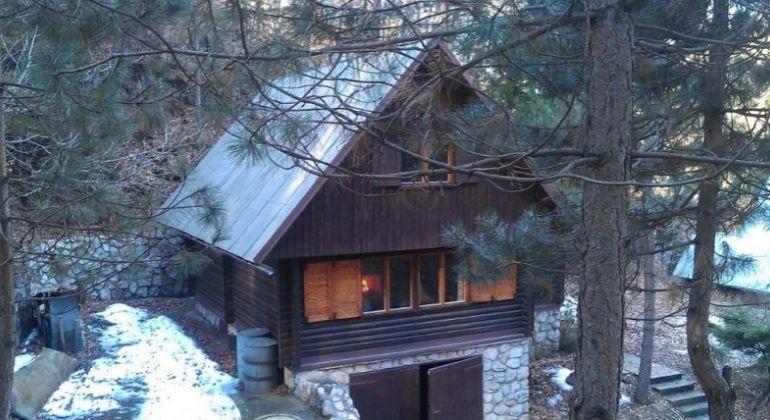 Romantická Chata v obci Buková