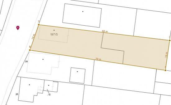 ARTHUR - predaj stavebný pozemok v centrálnej časti obce