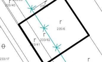 Stavebný pozemok v lukratívnej časti, 591 m2 - Partizánske, Veľké Bielice