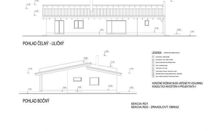 Stavebný pozemok 8815 m2 so stavebným povolením na rodinný dom v obci Réca