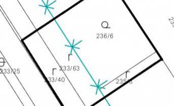 Stavebný pozemok, 561 m2 - Partizánske, Veľké Bielice