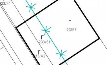 Stavebný pozemok pre rodinný dom, 571 m2 - Partizánske, Veľké Bielice