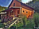 Nová chata na Domaši, pri vode, krásny výhľad, infrasauna