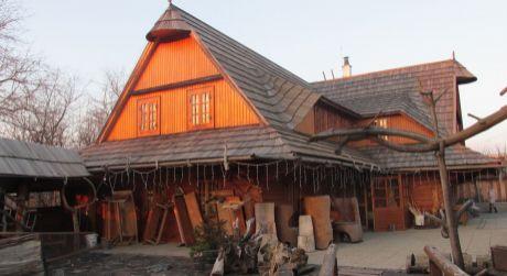 Drevostavba -reštaurácia,ubytovanie alebo ako rekreačná chalupa