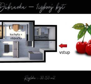 1 izbový byt v unikátnom projekte Čerešne living - StarBrokers