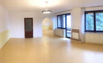 Na prenájom 2-izbový priestor v rodinnom dome 100 m2, Bratislava I., Drotárska cesta, nad bratislavským hradom