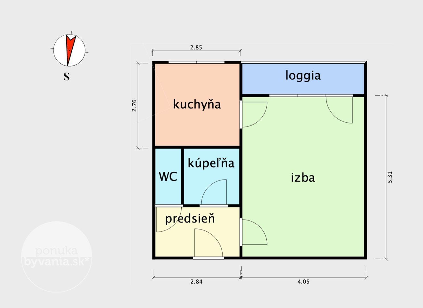 ponukabyvania.sk_Pavla Horova_1-izbový-byt_KOVÁČ