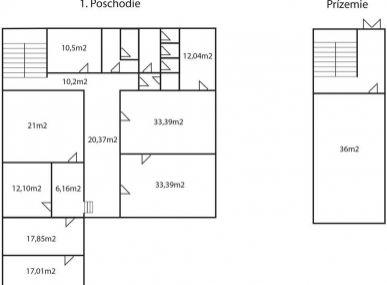 MAXFIN REAL - 7 kancelárií,sklad a parkovanie