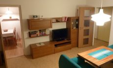 Na prenájom 3 izb. byt s pekným výhľadom – internet+ KTV- zariadený, Púpavová ul.,Karlova Ves.