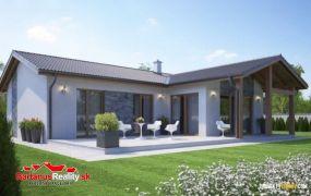Na predaj zaujímavá 4 izbová novostavba bungalovu v Trenčianskych Stankovciach časť Sedličná.