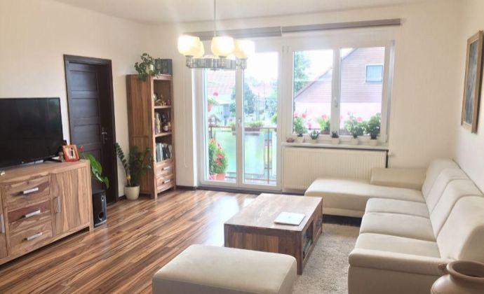 3 izb. byt s garážou a záhradkou