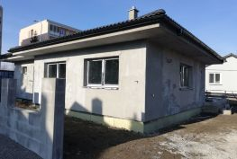 Ponúkame na predaj 4 izbovú novostavbu bungalovu v Dubnici nad Váhom.