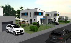 PREDAJ - rodinné domy v tichej lokalite Chocholná Zábrežie - dom B1, B2, B3 a B4