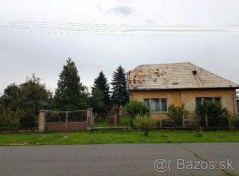 Panické Dravce, 3-i GAZDOVSKÝ dom v pôvodnom stave, so slnečným pozemkom 2893m2