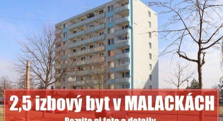 2 izbový priestranný prerobený na 2,5 byt v Malackách vám poskytne útulný domov