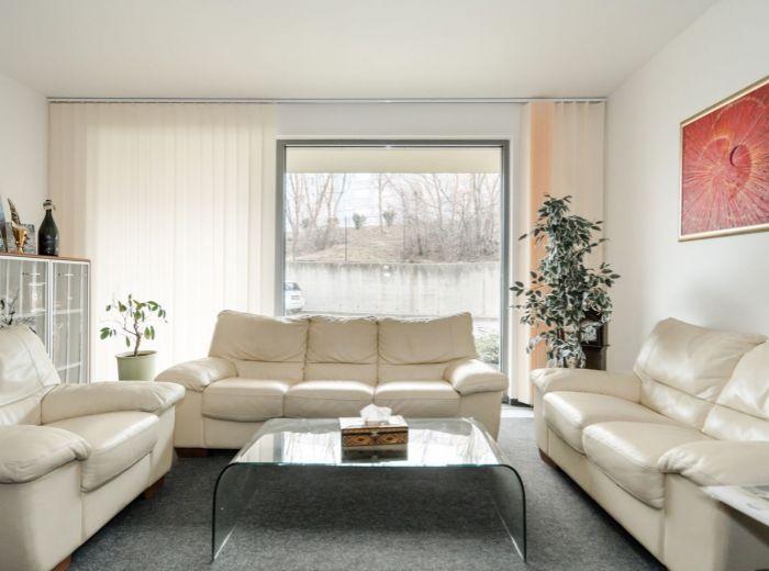 STARÉ GRUNTY, kancelárske priestory, 116 m2 – novostavba 2010, PRIVÁTNY VCHOD, vlastný kotol, UZAVRETÝ AREÁL