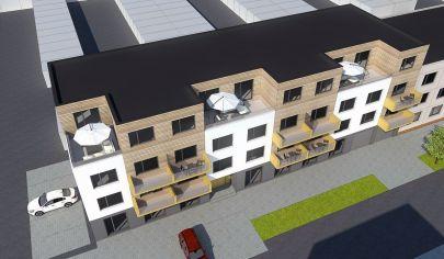 MARTIN SEVER 2 izbový byt 41.2m2 s balkónom, SEVERAN