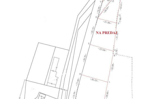 Na predaj pozemok v Skalke nad Váhom - Skalská Nová Ves, 749 m2 + projekt RD