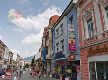 Obchodné/ kancelárske priestory 240 m2  Nitra - pešia zóna
