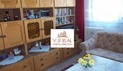 Na predaj 1. izbový byt  na Bodrockej ulici v Podunajských Biskupiciach.