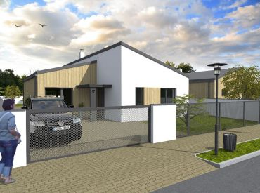 JJ Reality - 4 - izbový rodinný dom v novostavbe OÁZA so ZĽAVOU 4.000,- € /Jaslovské Bohunice/