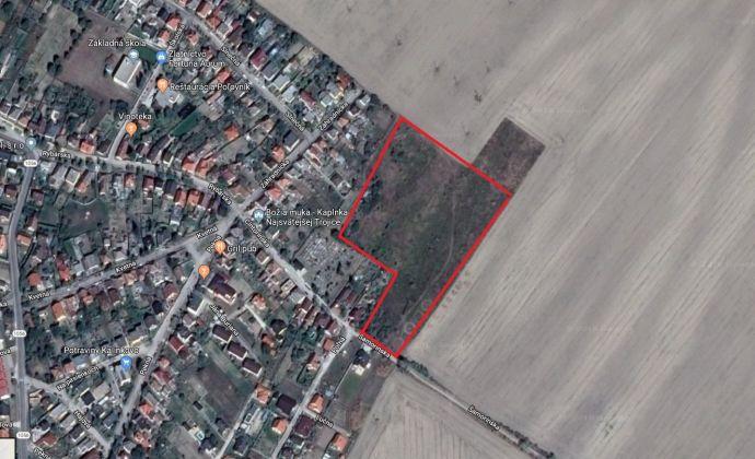 Pozemok 13905 m2 v Kalinkove