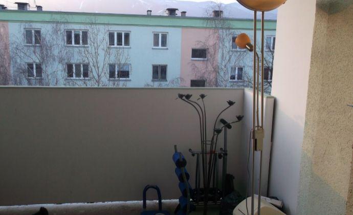 2 izb. byt s veľkým balkónom Martin-Sever-REZERVOVANÉ