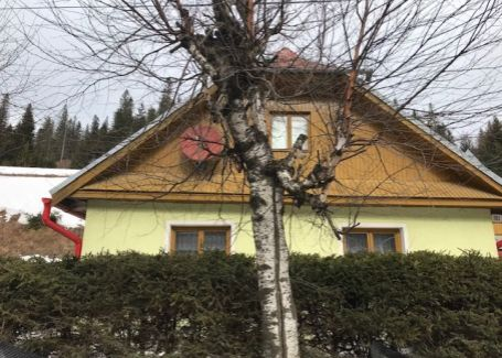 Rekreačný dom v rázovitej tatranskej obci Ždiar