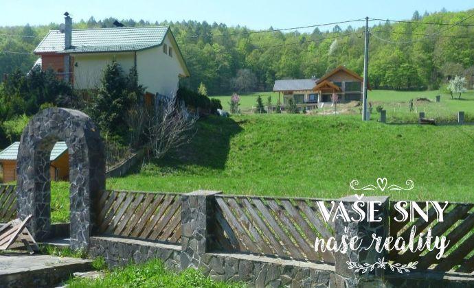 Pozemok na výstavbu chaty, ranču, zrubu..., veľmi krásna lokalita!!!