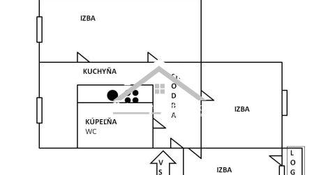 Predaj 2,5 izbového bytu s loggiou Zvolen - Zlatý Potok