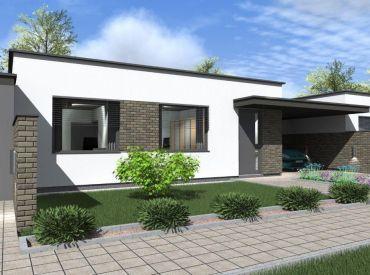 JJ Reality - 4 - izbový rodinný dom Modern / Vinohrady nad Váhom / ** Novostavba s pozemkom **