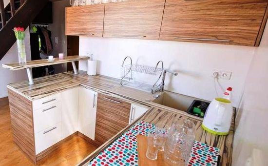 Novostavba-3.izb.mezonetovy byt, s dvomi parkovac.miestami, zariadený