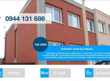 EXKLUZÍVNE LEN MAXFIN REAL- Vám ponúka dvojgeneračný,velkoryso riešený dom s veľkým potenciálom využitia- Holíč.