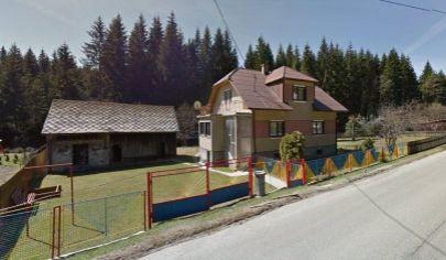 ORAVSKÁ LESNÁ 4 izbový rodinný dom na poz. 1400m2,okr. Námestovo