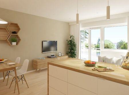 AKCIA!!  Nový 3 izbový byt /B1 64,76  m2 s balkónom / Piešťany