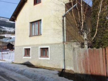 REZERVOVANÉ !!! Na predaj malý rodinný domček v obci Telgárt