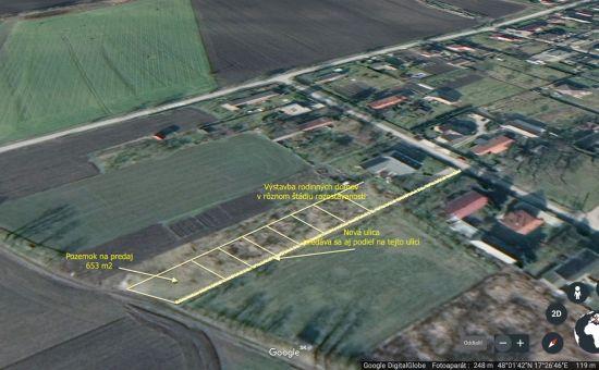Pozemok na stavbu rodinného domu Lehnice