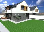 Predaj 4i RD v obci Levél - 416 m2 pozemok