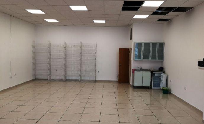 Prenájom obchodného priestoru, ÚP 100 m2, BA III - Nová Mesto na Budyšínskej ulici