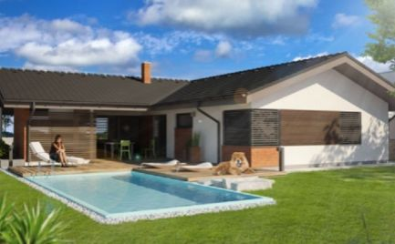 Novostavba - rodinný dom 5+KK 13 km od Banskej Bystrice - 187 000€