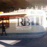 Obchodný priestor pod Mostom SNP v BA I - Staré mesto
