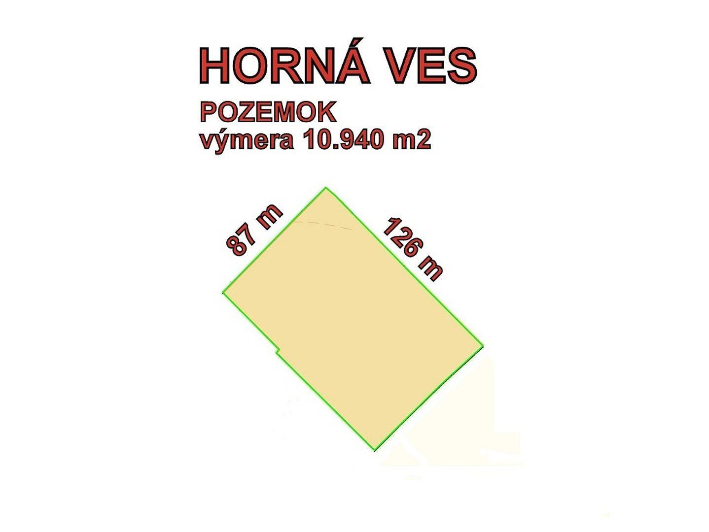 27237aaf0 HORNÁ VES stavebný pozemok- Zóna ľahkého priemyslu a komercie ...