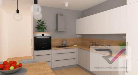 Rezervované- Na predaj nadštandardný 2 izbový byt s 2 balkónmi pri ABC - DCA