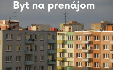 3-izbový byt v centre Púchova - na prenájom - ihneď
