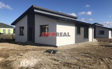 NOVOSTAVBA BUNGALOV KOKŠOV - BAKŠA, 120 m2 úž. pl., 644 m2 pozemok