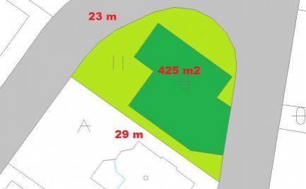 Novostavba - rodinný dom 4+KK  s pozemkom 425 m2, 13 km od B. Bystrice - 174 000€