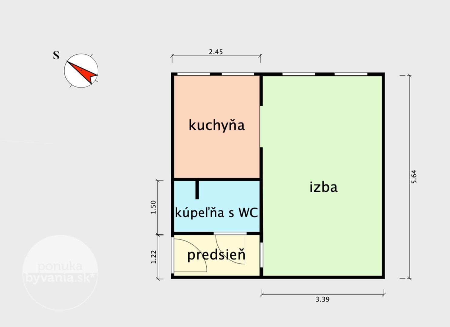 ponukabyvania.sk_Vrútocká_1-izbový-byt_archív