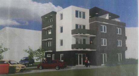 Novostavba 2 izbový byt č. 2.02, 76,08m2, balkón, loggia, s parkovacím miestom, centrum Piešťan