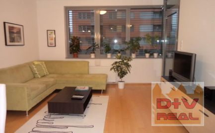 Prenájom: 2 izbový byt, Karloveské rameno, Bratislava IV, Karlova Ves, zariadený, loggia, parkovanie